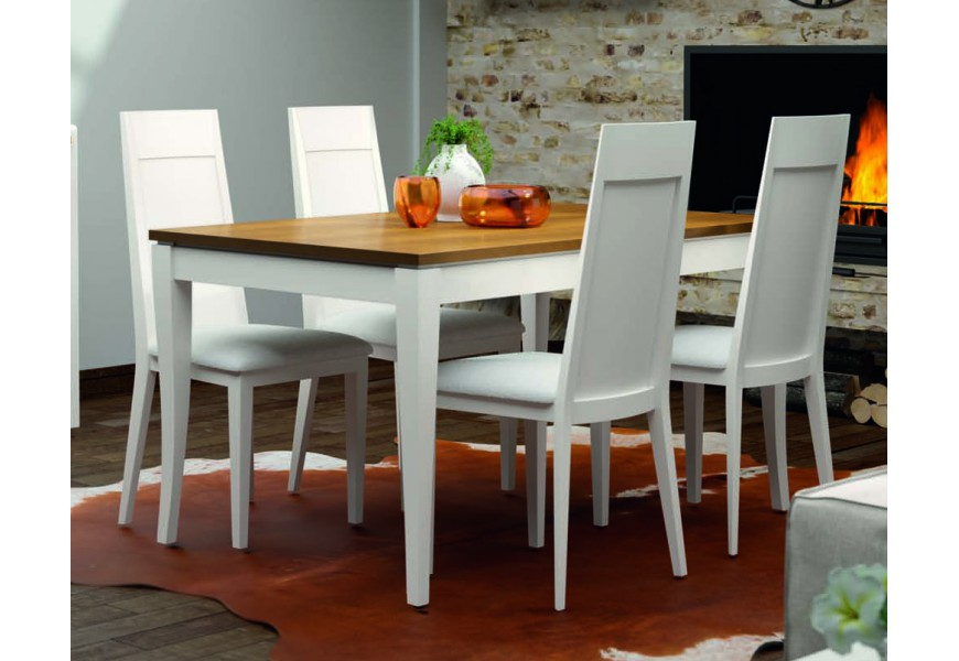 Štýlový jedálenský stôl rozkladací 140 Fontana (rozložený 200cm)