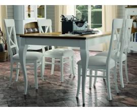 Luxusný jedálenský stôl rozkladací 140 Mediterráneo (rozložený200cm)