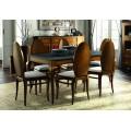 Luxusný jedálenský stôl rozkladací MEDITERRÁNEO 160 (rozložený 220cm)