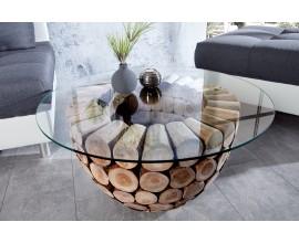 Dizajnový konferenčný stolík Pure Nature 70cm
