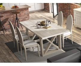 Luxusný masívny jedálenský stôl ALBORÁN 180cm