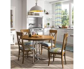 Dizajnový okrúhly jedálenský stôl SANTA CLARA Ø 120cm