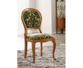 Luxusná rustikálna jedálenská stolička Rustica vyrezávaná