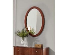 Luxusné rustikálne nástenné zrkadlo RUSTICA oválne