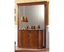 Luxusné rustikálne šatníkové nástenné zrkadlo CASTILLA v klasickom štýle