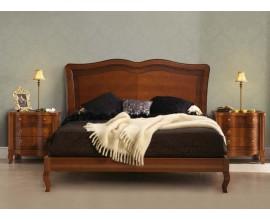 Luxusná rustikálna manželská posteľ CASTILLA 135-180cm s nožičkami Chipendale