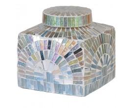 Dekoračná mozaiková nádoba 14x13cm