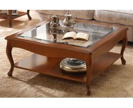Luxusný rustikálny konferenčný stolík CASTILLA