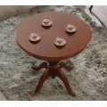 Luxusný guľatý jedálenský stôl CASTILLA Chippendale