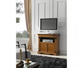 Luxusný rustikálny TV stolík RUSTICA v klasickom štýle 81cm