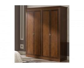 Luxusná rustikálna šatníková skriňa RUSTICA so 4mi dverami