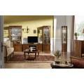 Luxusná klasická vitrína CASTILLA z masívu 100cm s LED podsvetlením