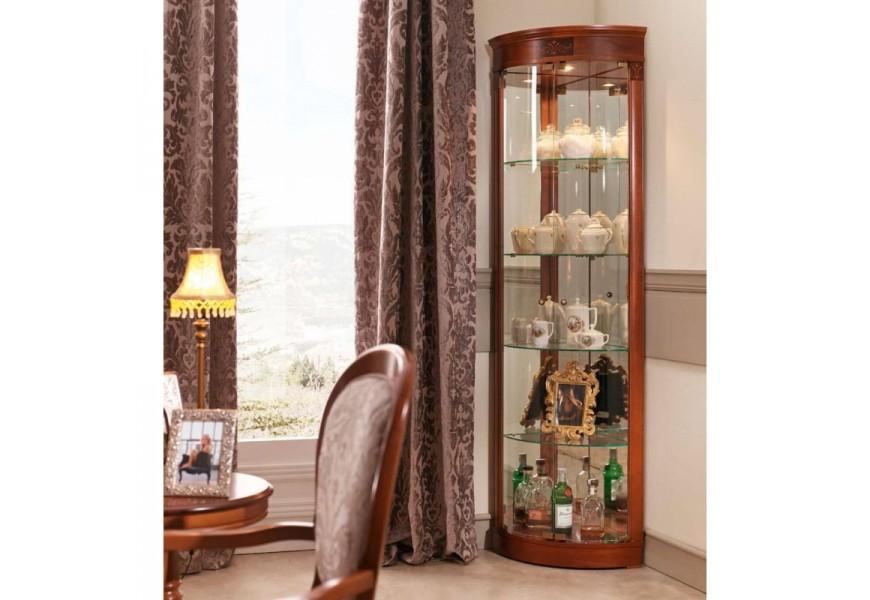 Exkluzívna presklená vitrína s barokovými prvkami CASTILLA