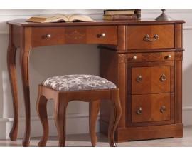 Luxusný rustikálny písací stôl CASTILLA z masívu