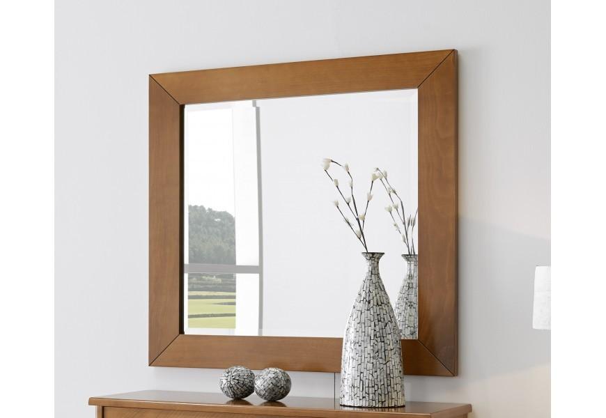 Jedinečné rustikálne zrkadlo Carmen I v ráme z kvalitného bukového dreva