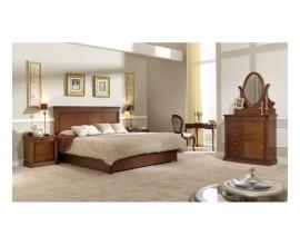 Luxusná rustikálna posteľ s úložným priestorom CASTILLA