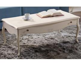 Luxusný masívny konferenčný stolík RUSTICA 112cm