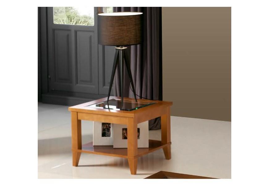 Exkluzívny konferenčný stolík Carmen IV je vyrobený z kvalitného bukového masívu