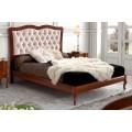 Luxusná rustikálna posteľ z masívu CASTILLA