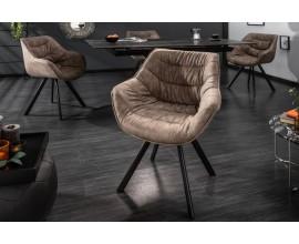Luxusná čalúnená stolička Meine v retro štýle