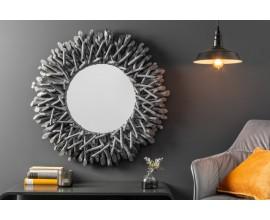 Dizajnové zrkadlo Vista v sivej farbe
