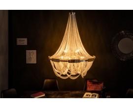 Luxusný retiazkový strieborný luster Razo II 70cm