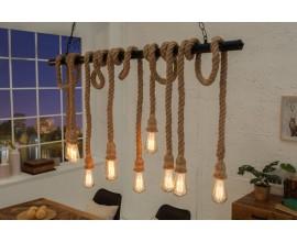 Unikátna závesná lampa Halvor