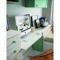 Luxusná detská izba Blanco Decape / Verde Agua