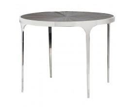 Dizajnový masívny okrúhly jedálenský stôl Croma 101cm