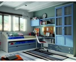Luxusná detská izba Blanco Decape / Azul Cielo / Azul Mar
