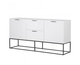 Luxusný moderný TV stolík Sylvain biely 180cm
