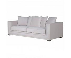 Moderná dizajnová sedačka 225cm Oriane Beige sivá