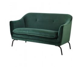 Exkluzívna Art-Deco sedačka zelená Thieny Emerald