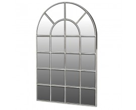 Art-deco luxusné zrkadlo Delrico strieborné 114 cm