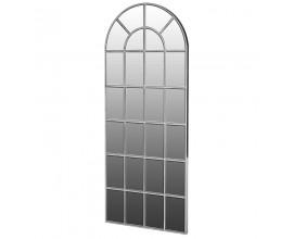 Art-deco luxusné zrkadlo Delrico strieborné 183 cm