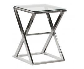 Art-deco luxusný príručný stolík Cherell 60cm
