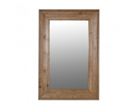 Rustikálne zrkadlo Ondine s rámom z dubového dreva 150cm