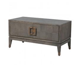 Luxusný TV stolík Walena v retro štýle vysoký