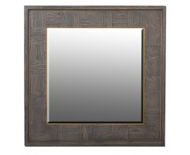 Jedinečné sivé zrkadlo Walena v retro štýle