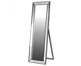 Moderné stojace zrkadlo v kovovom ráme Cherell 168cm