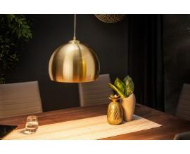 Dizajnová závesná lampa Amaris zlatá 30cm
