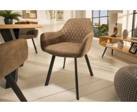 Moderná dizajnová stolička Ventura bledohnedá 59cm
