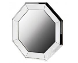 Dizajnové nástenné zrkadlo Cherell v striebornej farbe