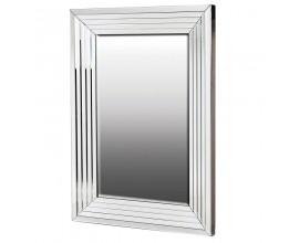 Moderné obdĺžnikové zrkadlo Cherell v zrkadlovom ráme 113cm