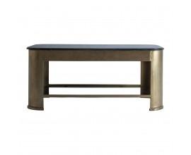 Art-deco luxusný konferenčný stolík Belanie mramorový 99 cm
