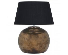 Dizajnová keramická stolná lampa REGOLA 40cm