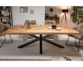 Masívny industriálny jedálenský stôl Comedor 200cm