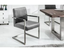 Moderná stolička Imperial 88cm v sivom prevedení