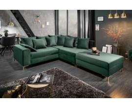 Moderná luxusná sedačka Alabastra 220cm Green