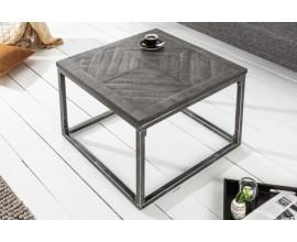 Industriálny štýlový príručný stolík Frida 60cm